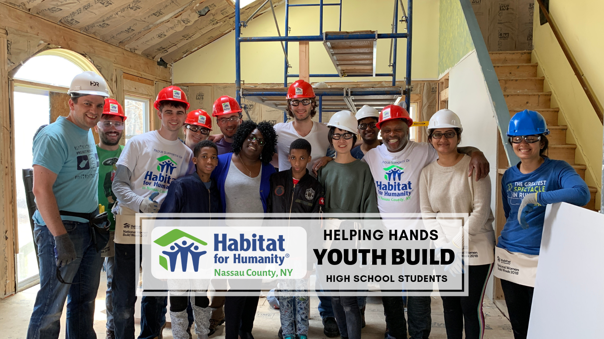 Helping Hands Youth Build, High School Students