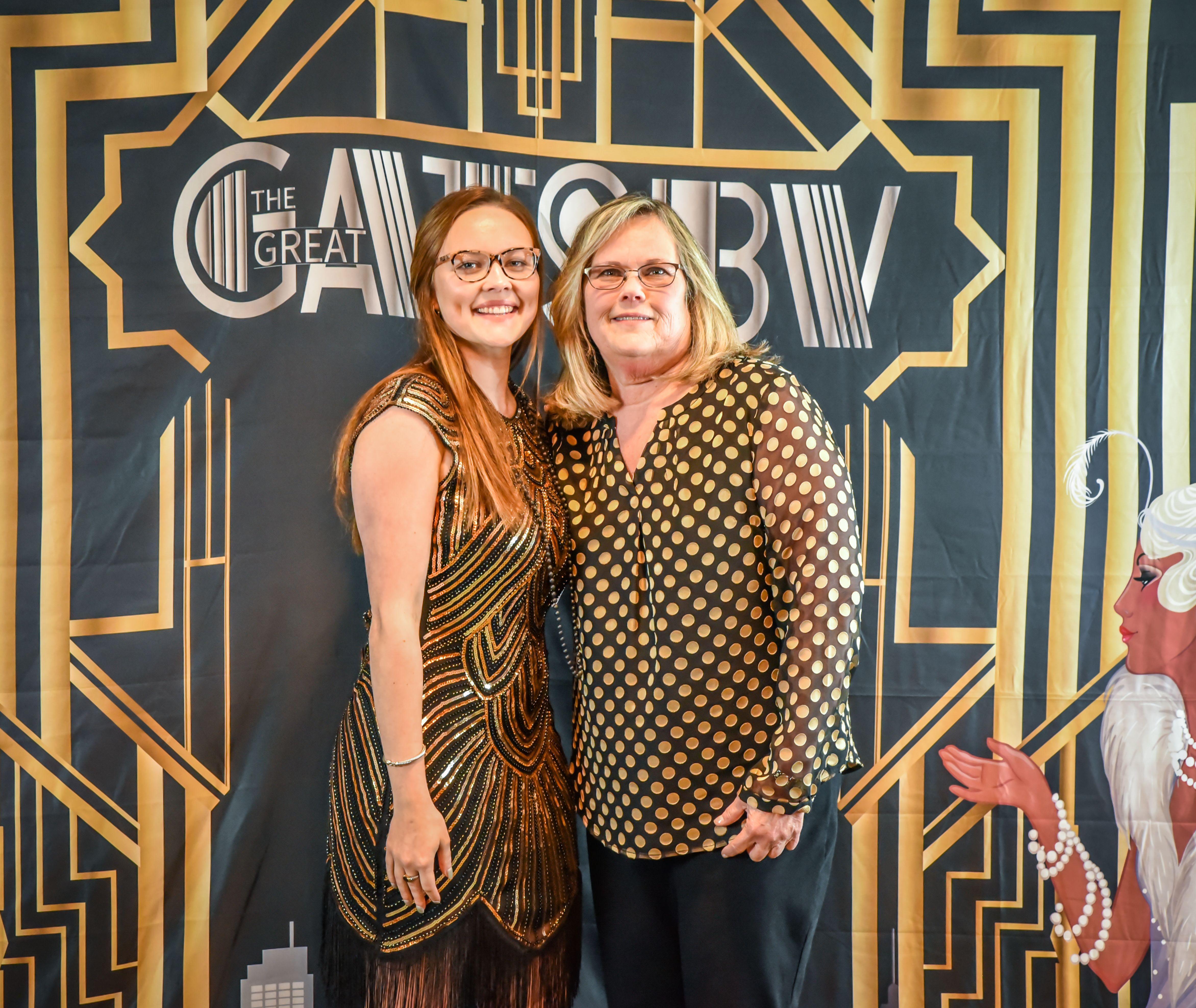 Catherine Bonds Moore & daughter