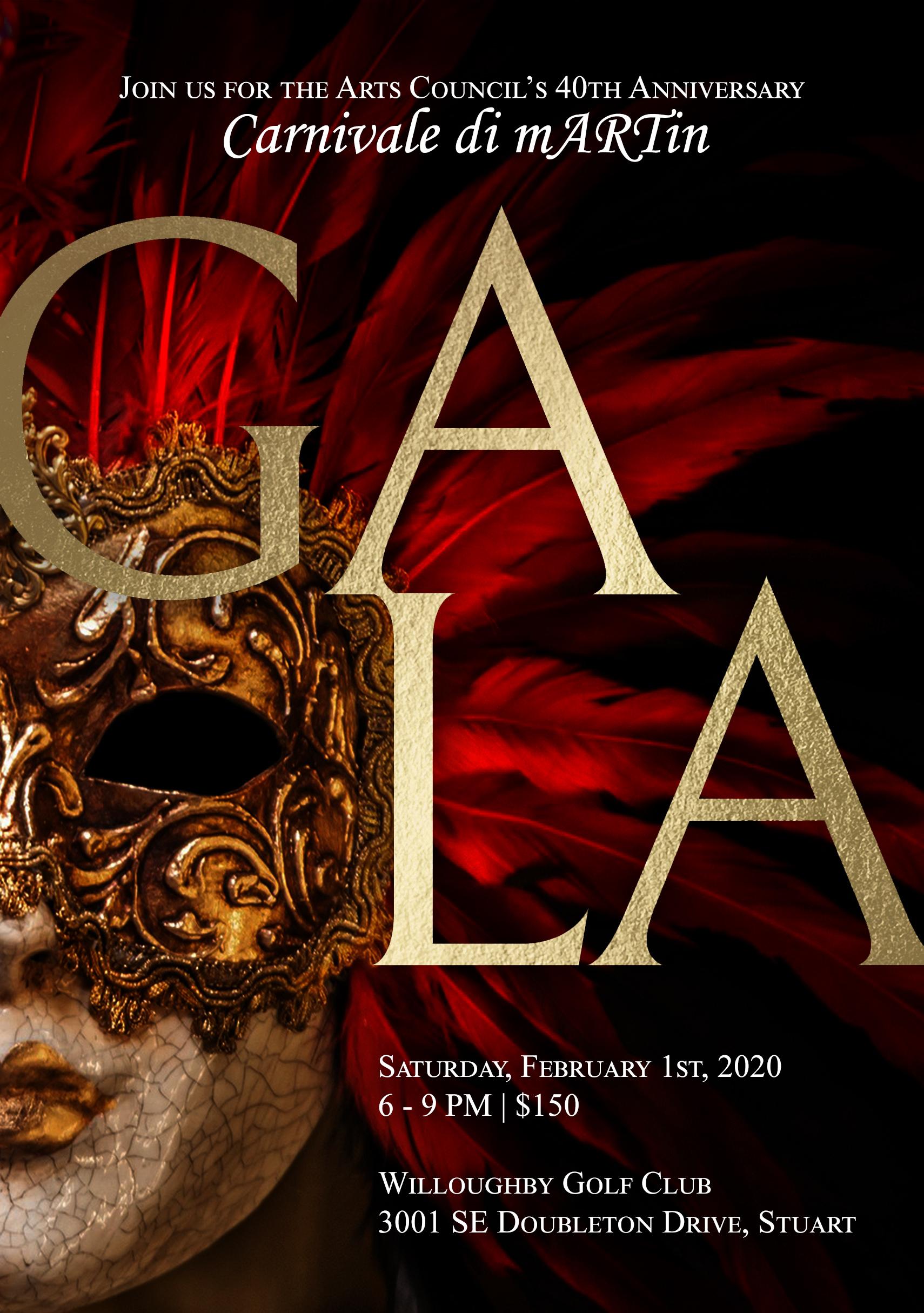 Carnevale di Martin: 40th Anniversary Gala
