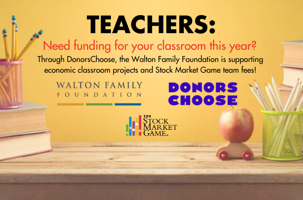 Find Funding Through DonorsChoose