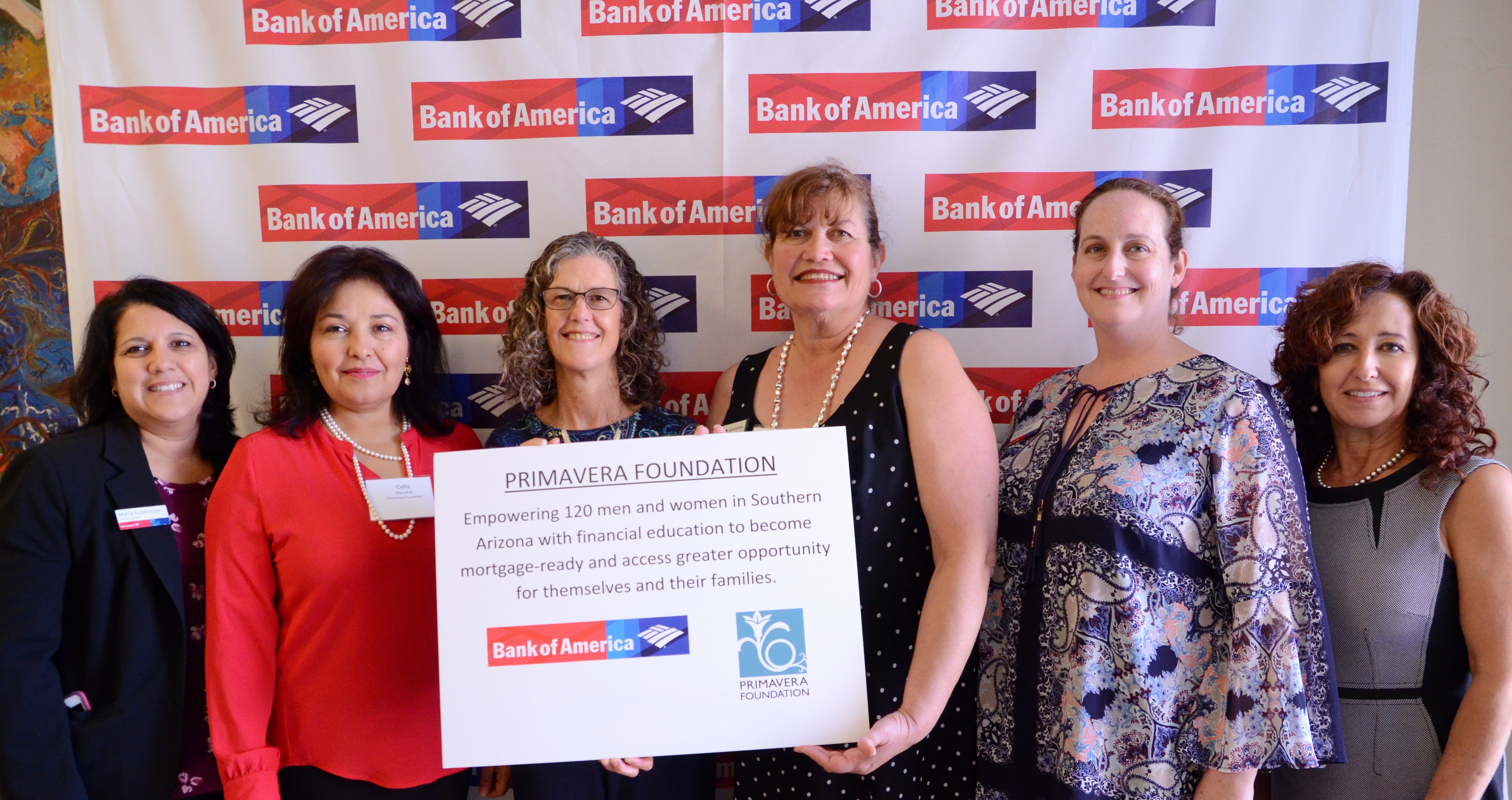 Homeownership Receives Bank of America Grant