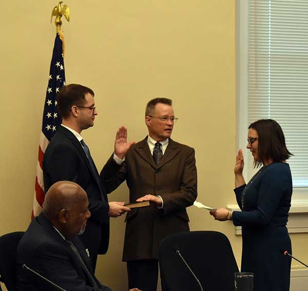 Vogt sworn in as new ACHP Expert Member