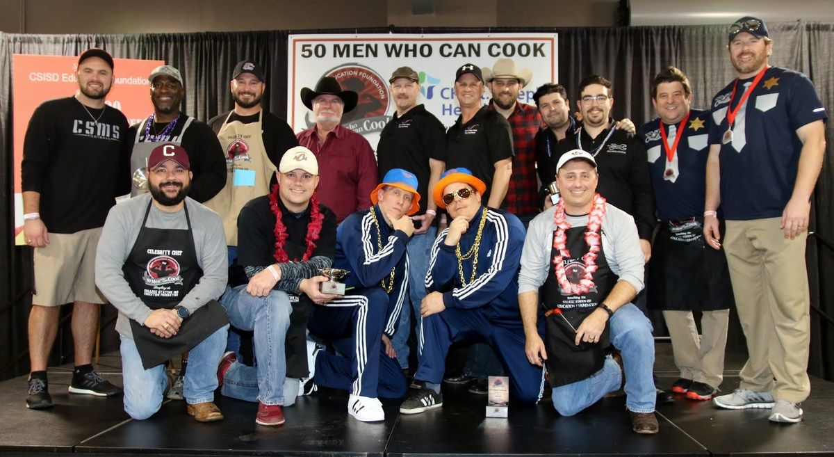 2018 50 Men Who Can Cook Winners