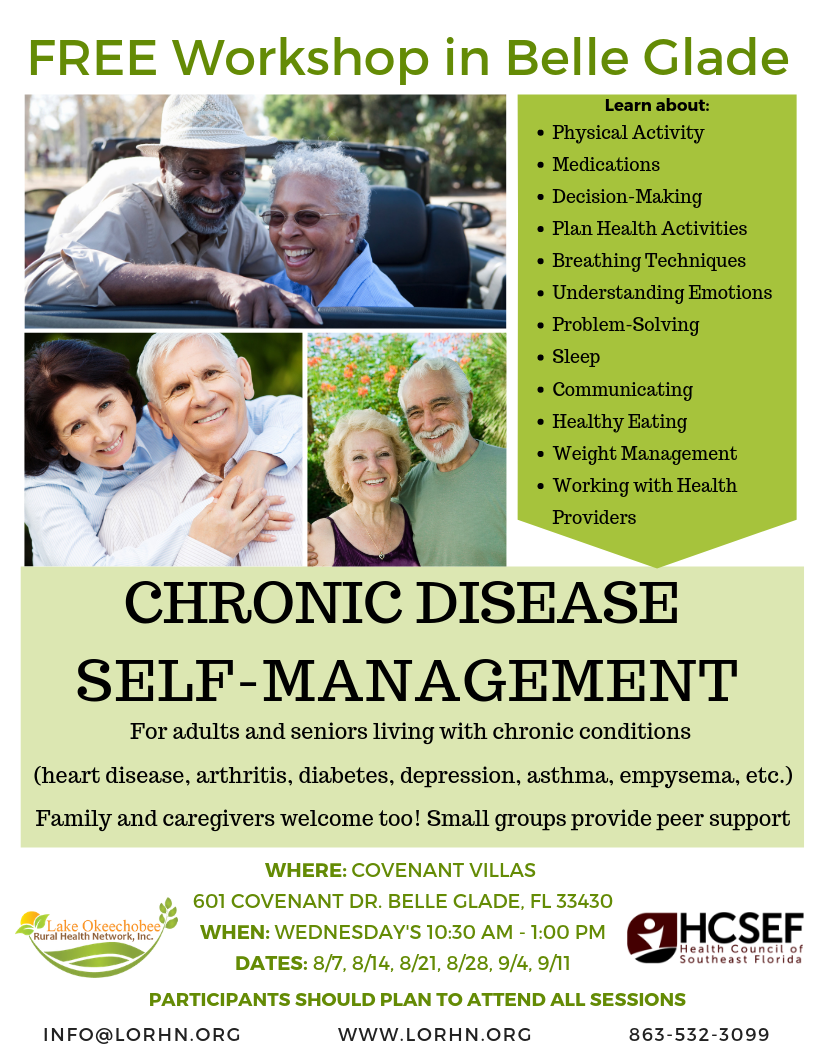 Chronic Disease Self Management - Belle Glade