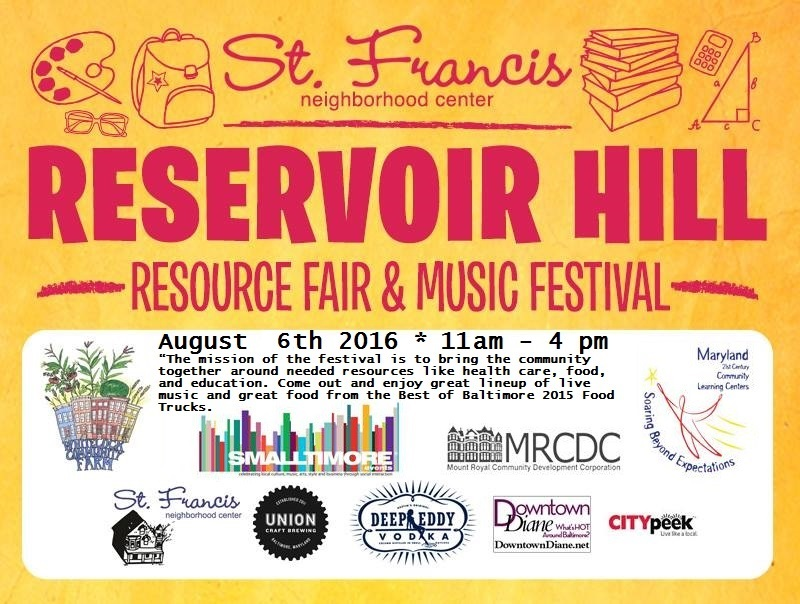 11th Annual Reservoir Hill Resource & Music Festival