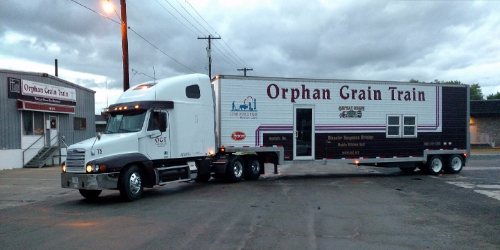 Orphan Grain Train's Mobile Kitchen