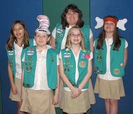 Pennfield Girl Scout Troop 80264 Earns Bronze Award