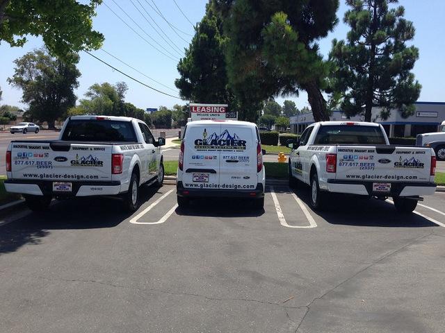 Fleet vehicle graphics Orange County