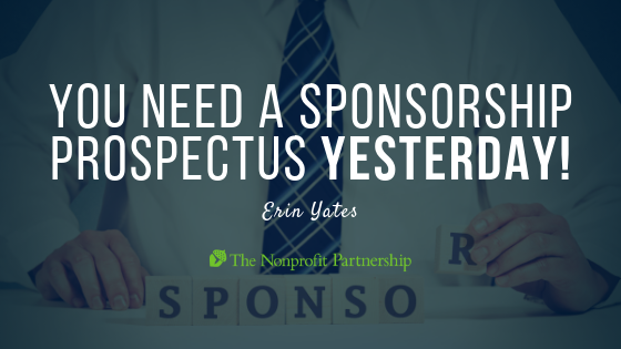 You Need a Sponsorship Prospectus YESTERDAY!