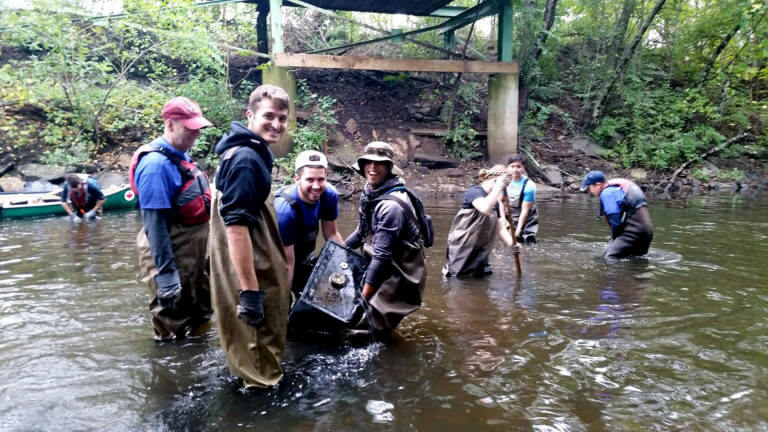 Neponset River Spring Cleanup