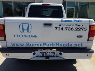 Vehicle vinyl lettering and graphics Buena Park CA