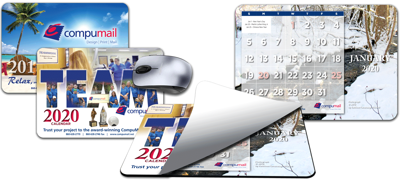 2020 Mouse Pad Calendars