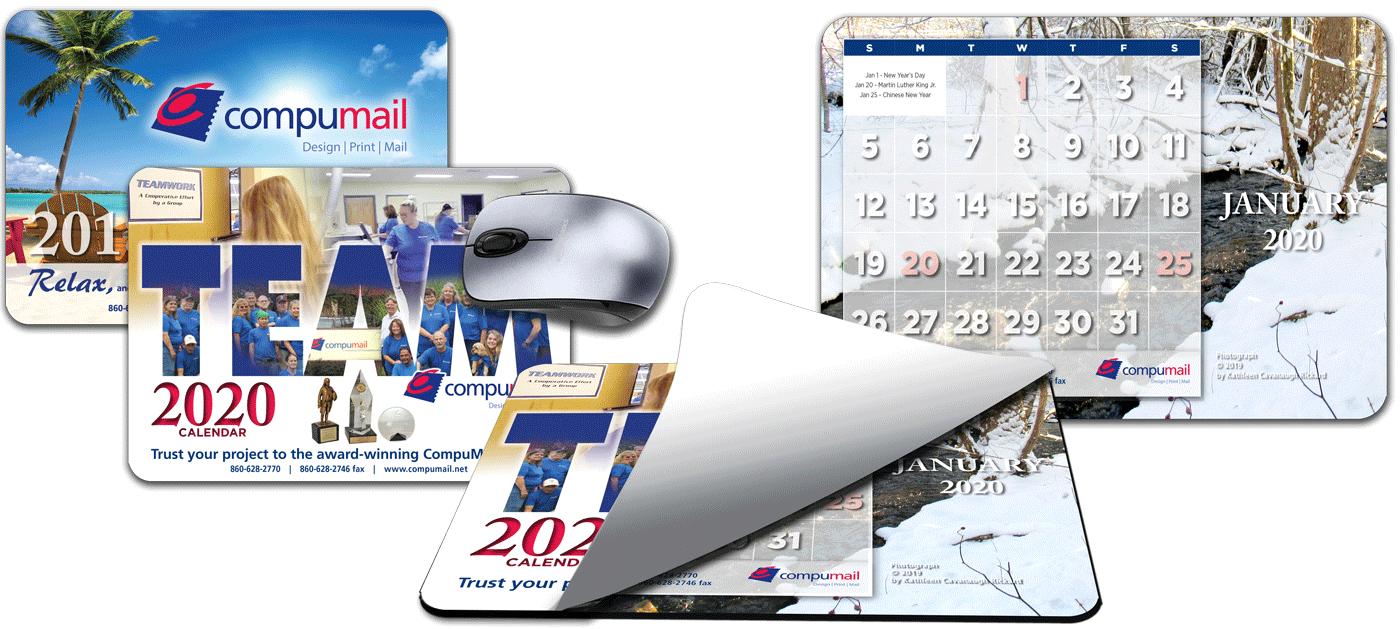 2020 Mouse Pad Calendars