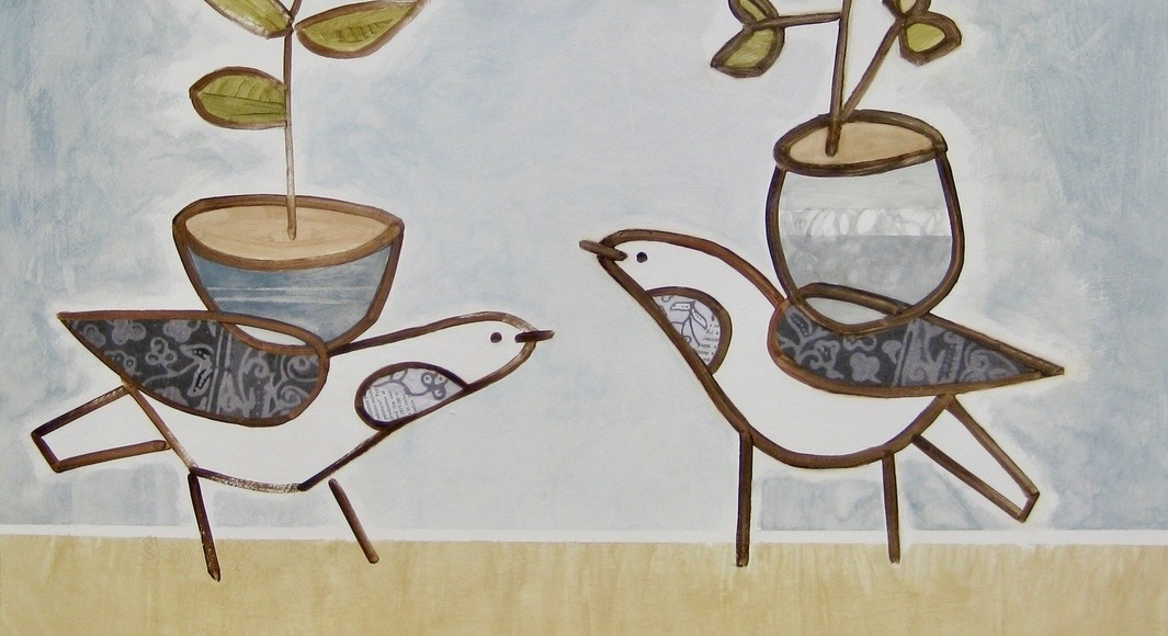 Winter Birds Dream of Summer, paintings by Jeremy Joseph, on view through January