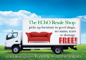 Evergreen Christian Outreach Resale Shop Furniture Pick Up