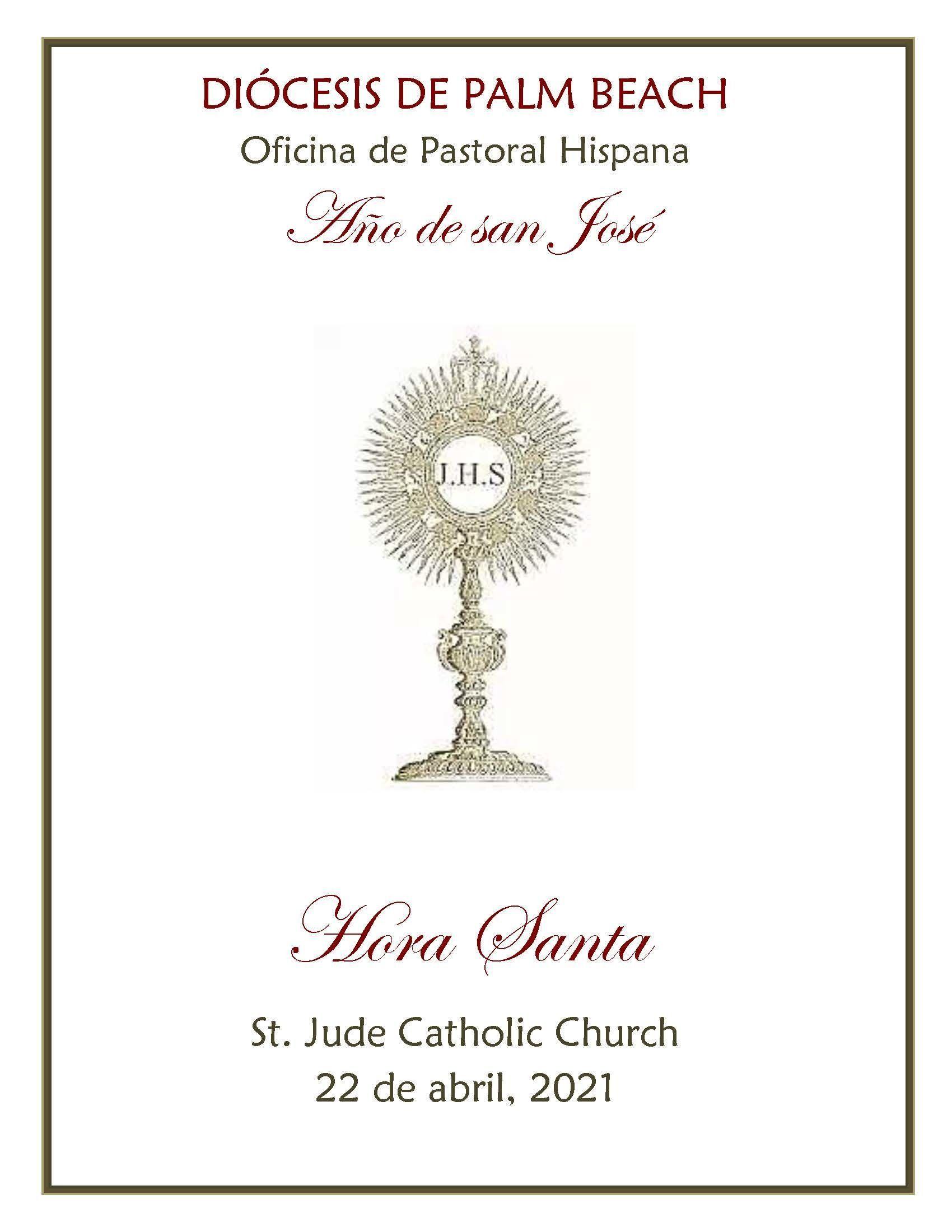 Hora Santa - St. Jude