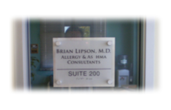 ADA Tactile Braille Suite Signs