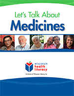 Let's Talk About Medicines workbook (adults and seniors)