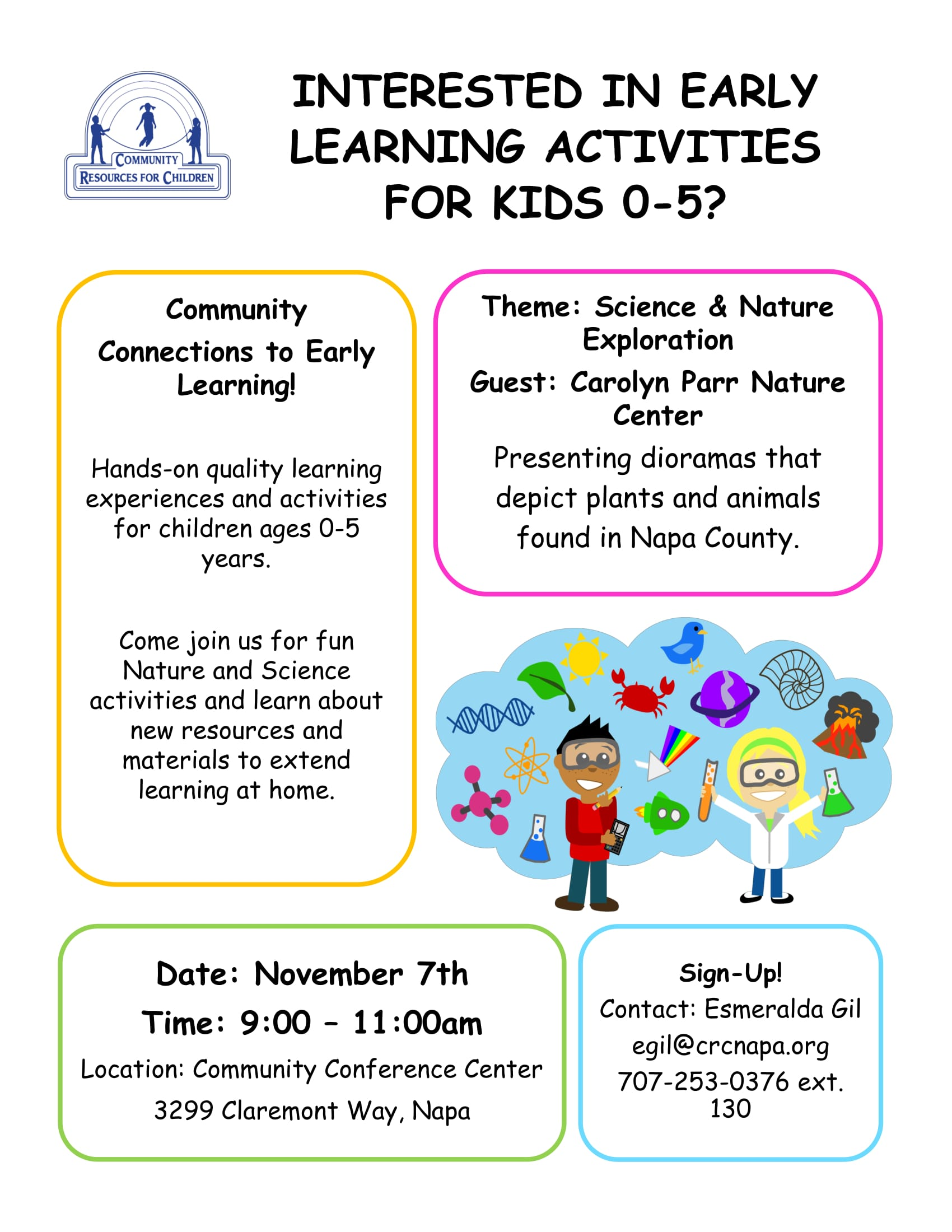 Community Connections to Early Learning
