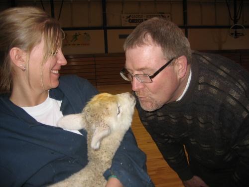 Kiss the Lamb