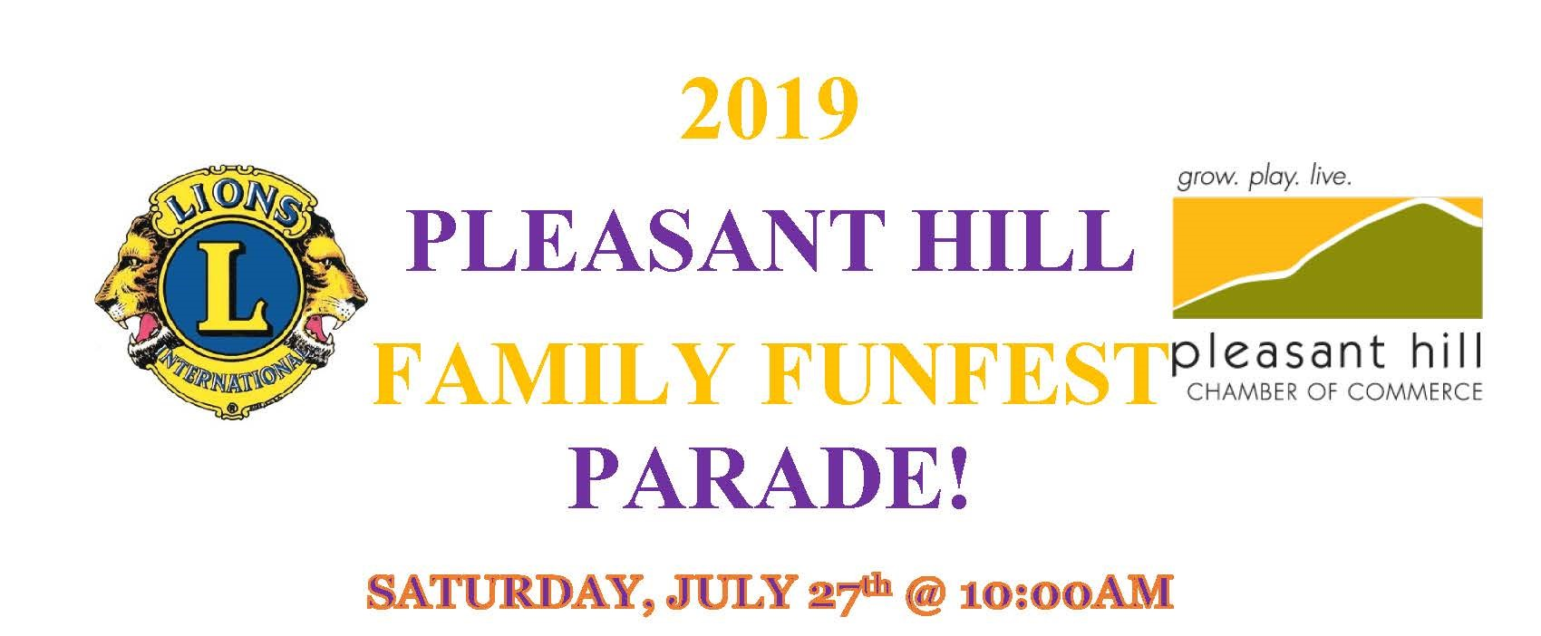 Pleasant Hill Chamber of Commerce : News & Events : 2019 Family