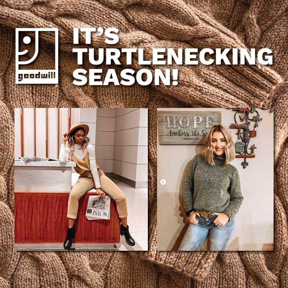 It's Turtlenecking Season!