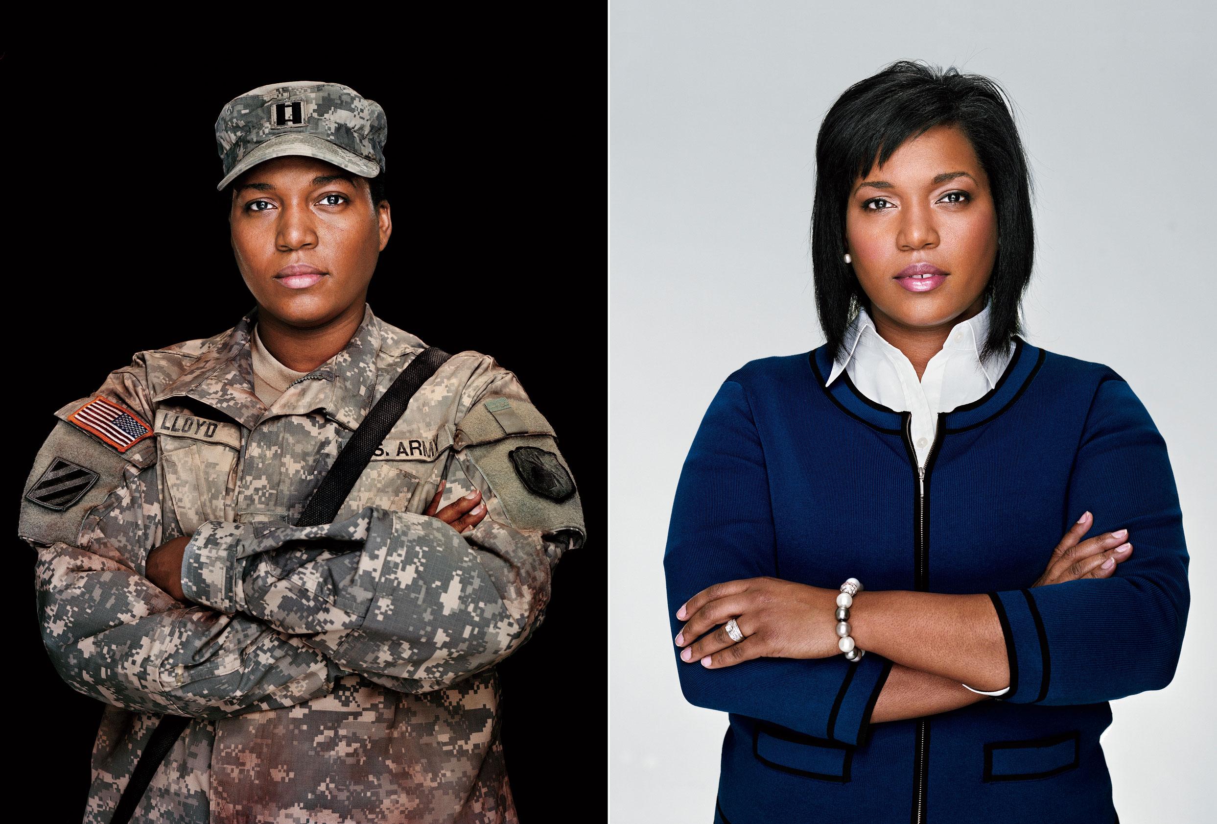 How a Female Veteran Became a Wal-Mart Exec