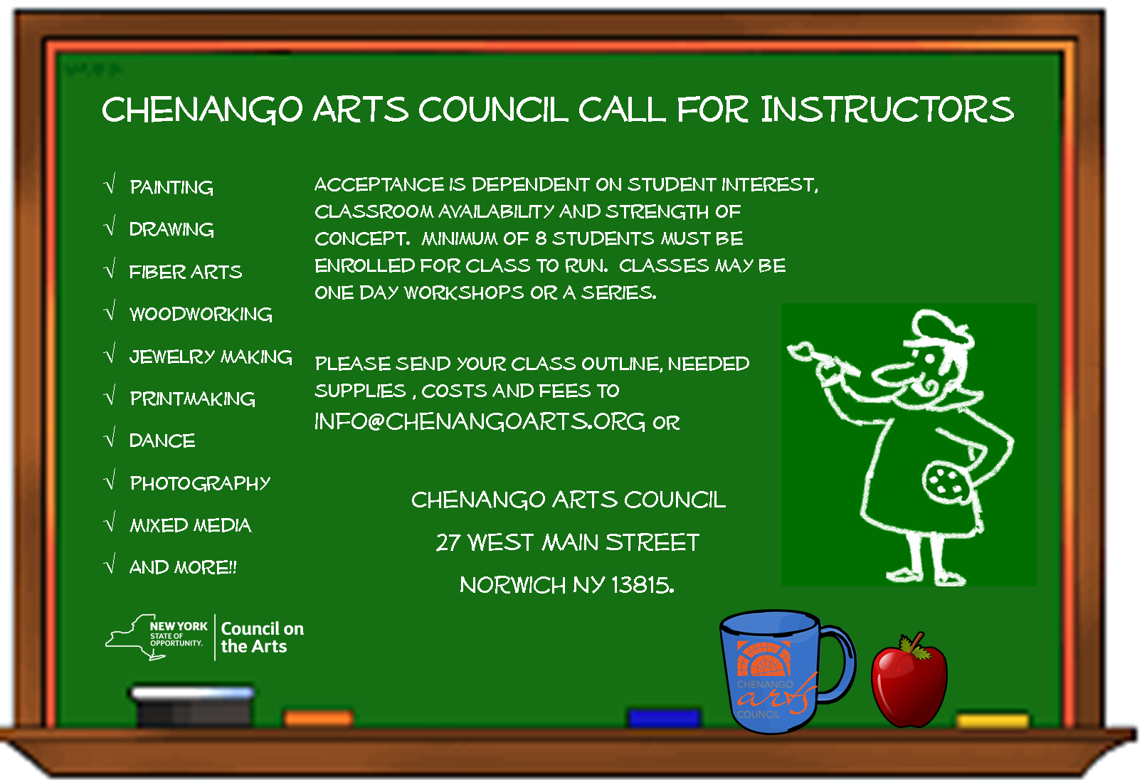 Call for Instructors!