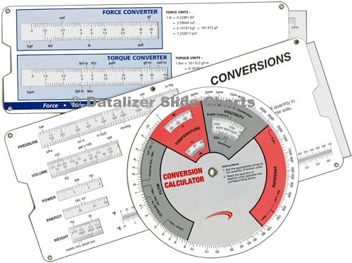 Engineering, Mathematical Slide Rule Calculators