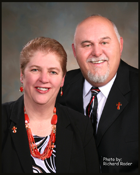 Rev. Mr. David and Mrs. Cheryl Probst