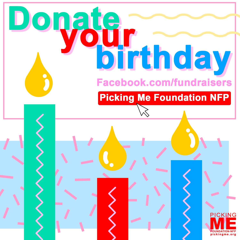 Fb Birthday Fundraiser
