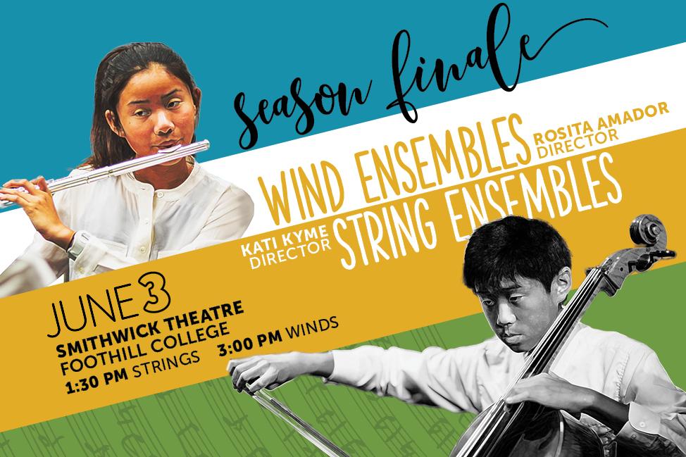 2018 Season Finale - Wind & String Ensembles