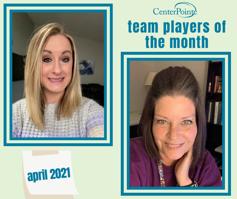 April 2021 Team Players of the Month!