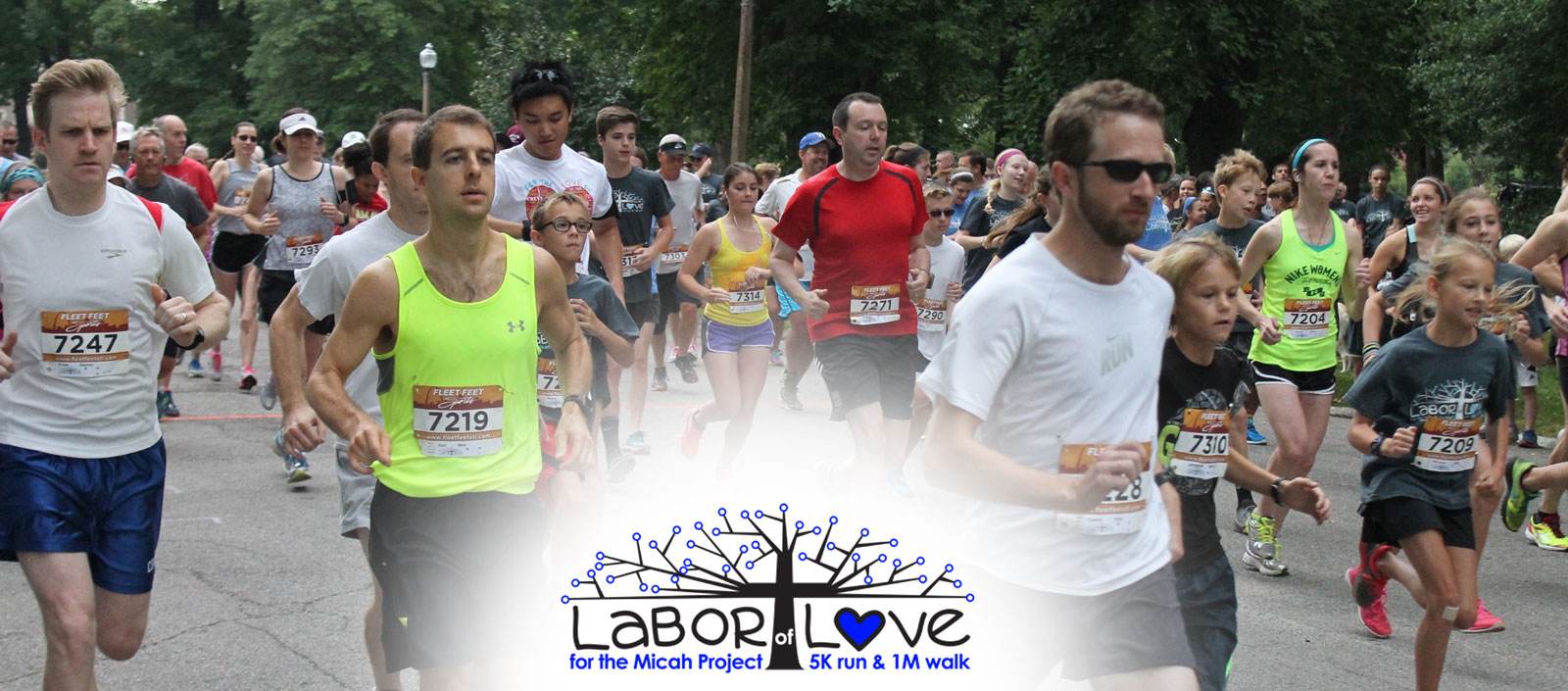Labor of Love 5k/1mi Race