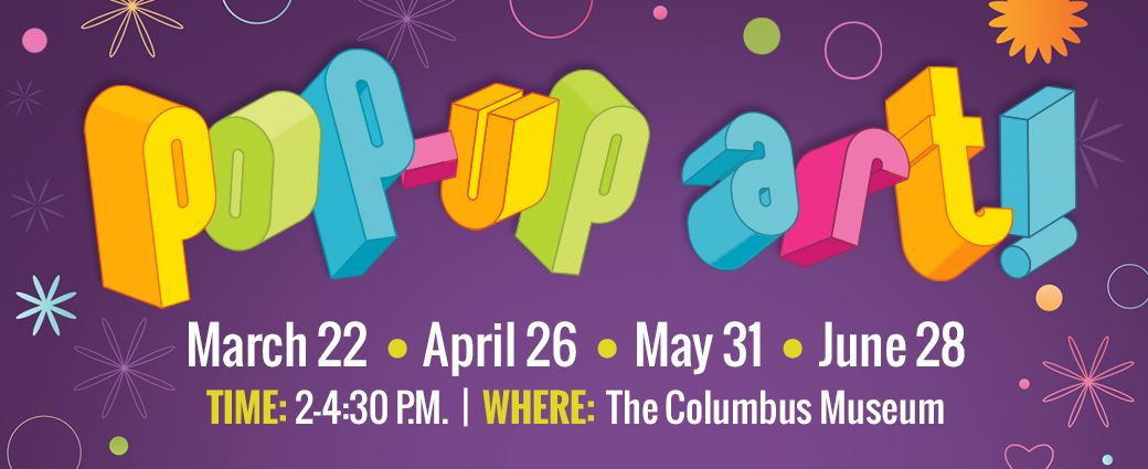 CANCELLED: Pop-Up Art! at The Columbus Museum