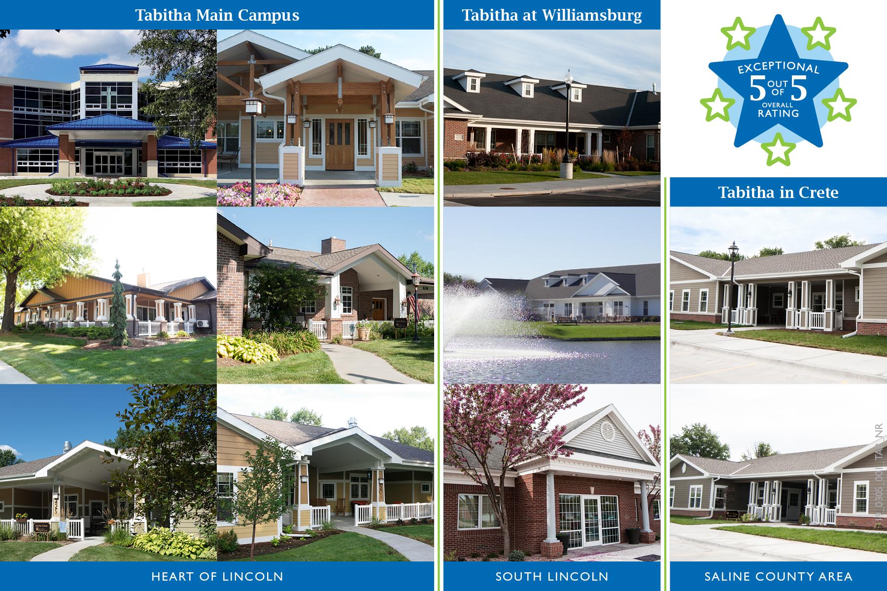 Perfect Ratings for Tabitha Senior Living Communities