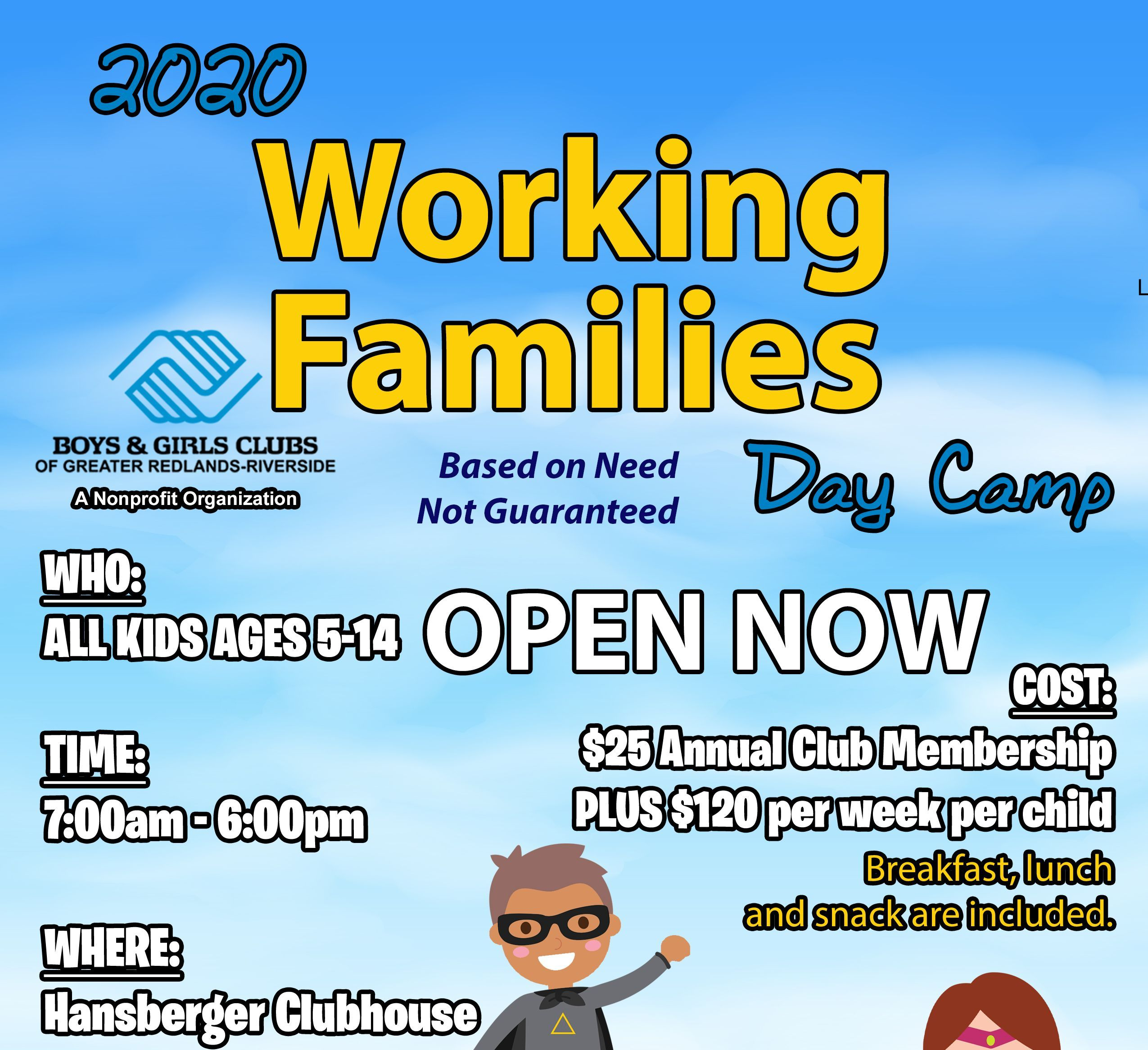 Serving Kids of Working Families