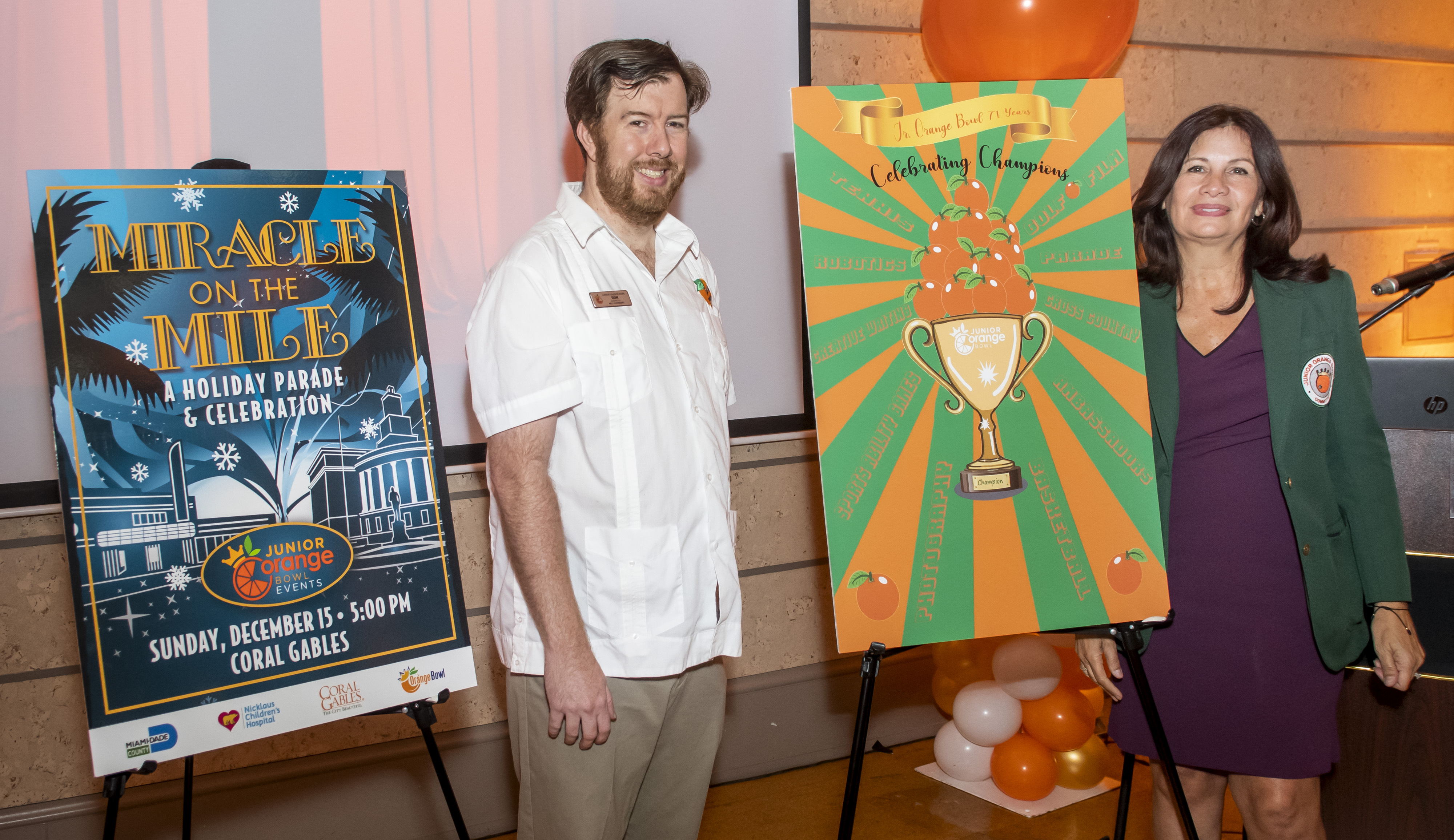 Junior Orange Bowl Festival Kickoff and Parade Theme Unveiling