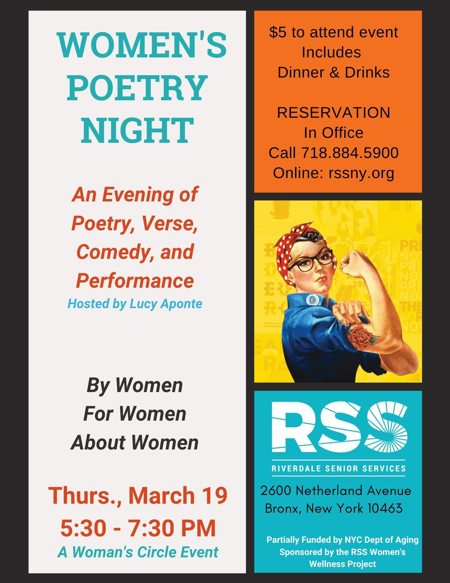 Women's Poetry Night
