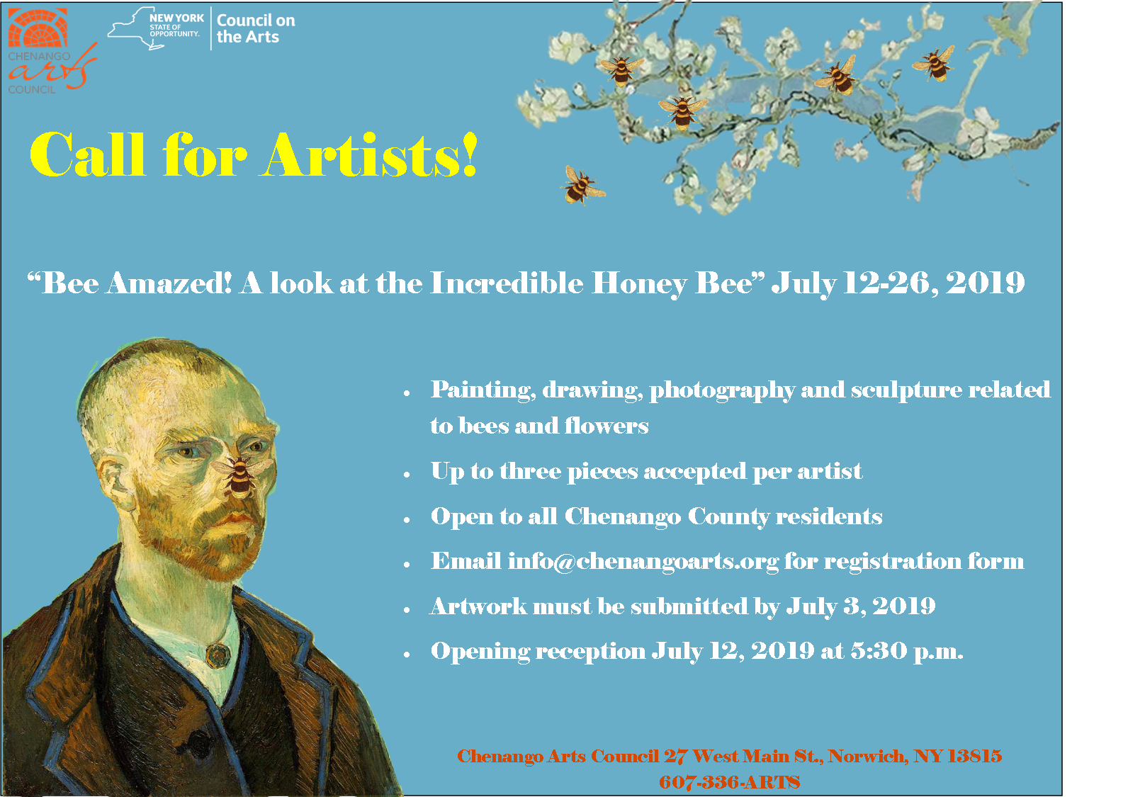 Bee Amazed! Call for Artists