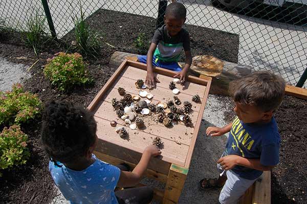 Nature Explore Outdoor Classroom at Northbridge Childcare Center