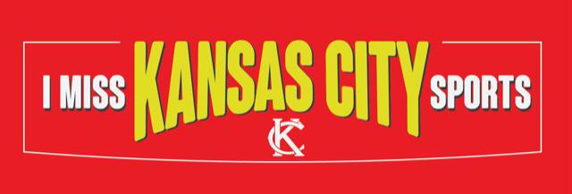 I Miss KC Sports Bumper Sticker - RED