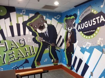 AU Office of Communications Wall Mural