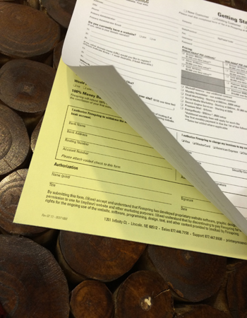 Custom Business Form Printing