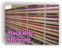 Stackable Shelving Units at Lancer Ltd. 800.541.2232