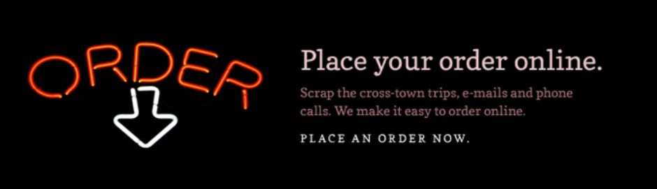 Place Online Order Graphic