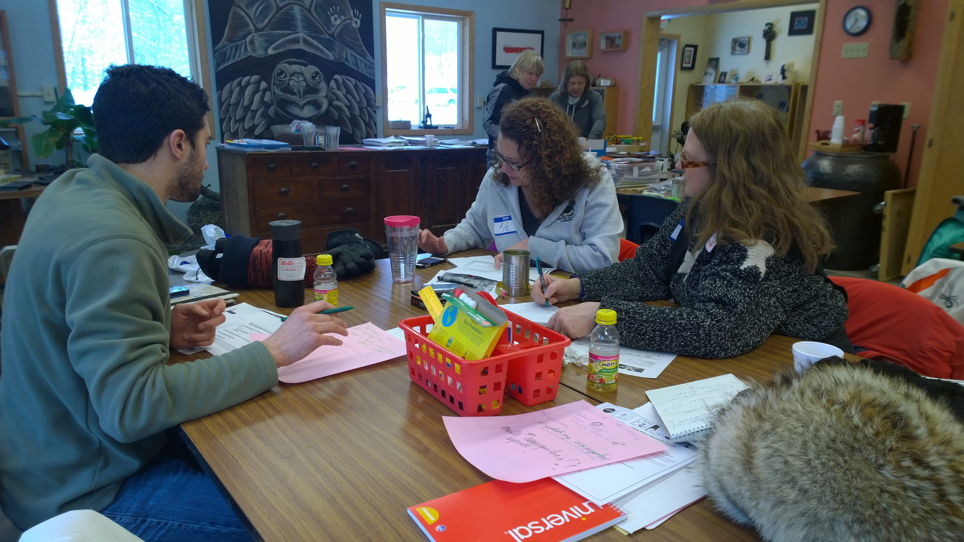 Two NASA workshops for educators
