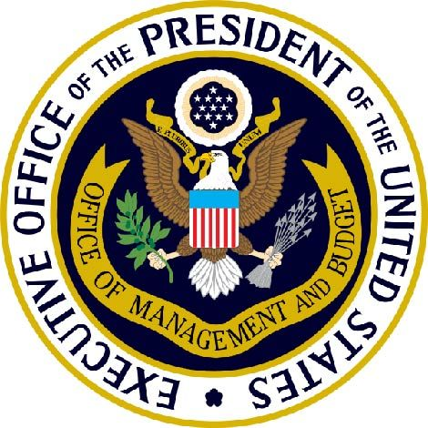 U30098 - Carved 3-D Wood Wall Plaque of the Seal of the Executive Office of Management & Budget (OMB)