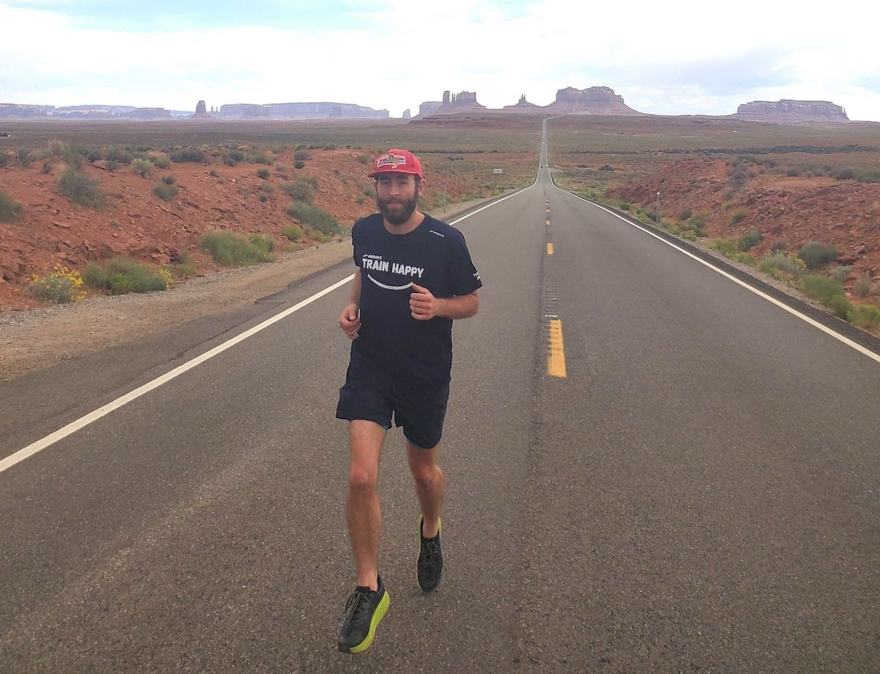 Mike runs across America for children with cancer!