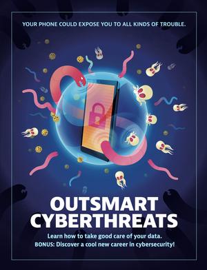 Outsmart Cyberthreats booklet